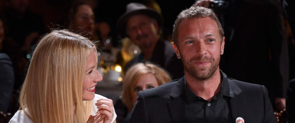 PHOTO: Gwyneth Paltrow and Chris Martin attend the 3rd annual Sean Penn & Friends HELP HAITI HOME Gala benefiting J/P HRO presented by Giorgio Armani, Jan. 11, 2014 in Beverly Hills, California.