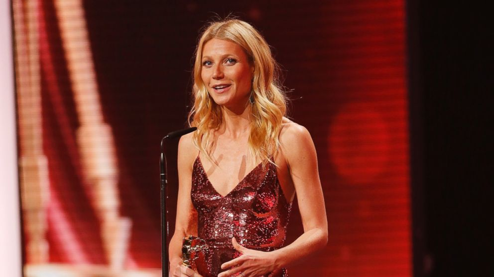 PHOTO: Gwyneth Paltrow attends the Goldene Kamera 2014 at Tempelhof Airport, Feb. 1, 2014 in Berlin.