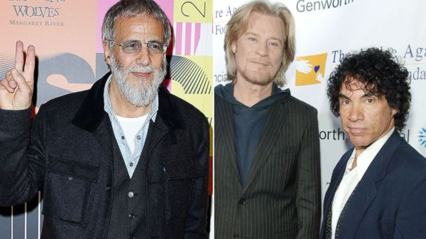 GTY hall oates cat stevens jtm 131216 16x9 608 Look Who Made the Rock and Roll Hall of Fame