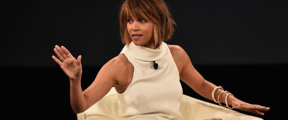 PHOTO: Actress Halle Berry speaks at the AOL 2016