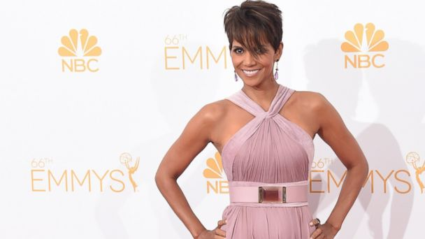 PHOTO: Actress Halle Berry poses in the press room during the 66th Annual Primetime Emmy Awards held at Nokia Theatre L.A. Live, Aug. 25, 2014, in Los Angeles.