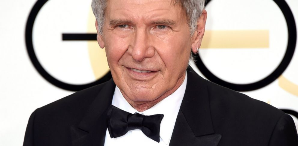 PHOTO: Harrison Ford attends the 72nd Annual Golden Globe Awards at The Beverly Hilton Hotel, Jan. 11, 2015, in Beverly Hills, Calif.