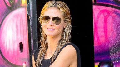 Heidi Klum Goes Low-Key in NYC