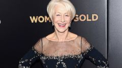 Helen Mirren Goes Glam for the Red Carpet