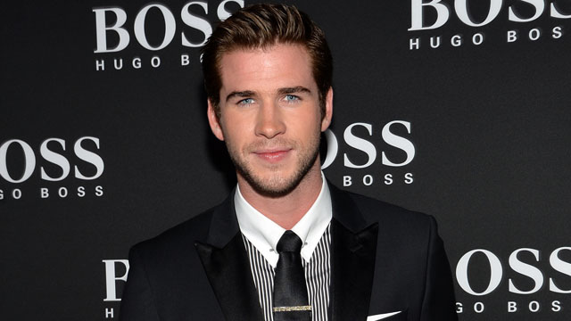 PHOTO: Liam Hemsworth attends the Columbus Circle BOSS flagship opening in New York, Sept. 24, 2013.