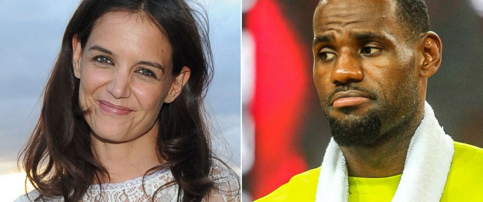 PHOTO: Katie Holmes is excited Lebron James will be playing in Ohio.