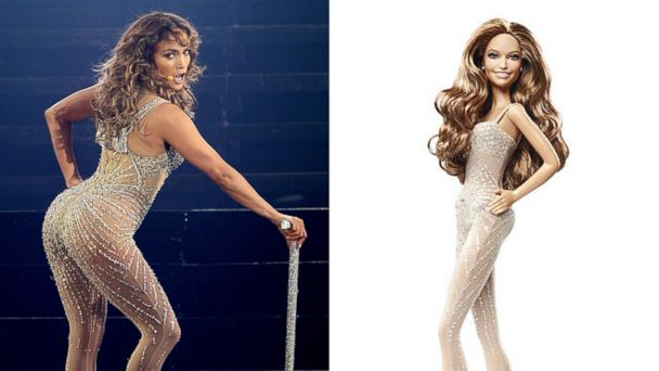 GTY ht jennifer lopez barbie 2 sr 131108 16x9 608 Jennifer Lopez Barbie Dolls Revealed