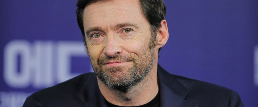 "PHOTO: Hugh Jackman attends the press conference for ""Eddie the Eagle"" in Seoul, South Korea, March 7, 2016."