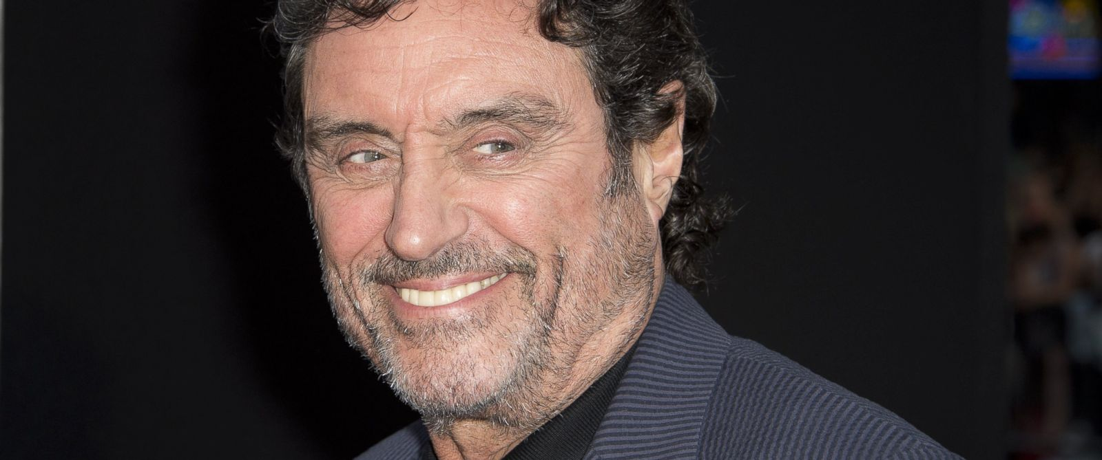 "PHOTO: Ian McShane attends the premiere of ""Hercules,"" July 23, 2014 at TCL Chinese Theatre in Hollywood, California."