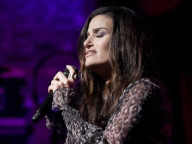 PHOTO: Idina Menzel performs in concert to celebrate her new album idina. at Brooklyn Bowl, Sept. 22, 2016, in New York City.