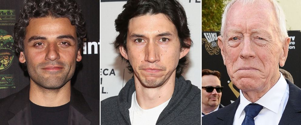 "PHOTO: Oscar Isaac, Adam Driver and Max von Sydow selected as new cast of ""Star Wars: Episode VII."""