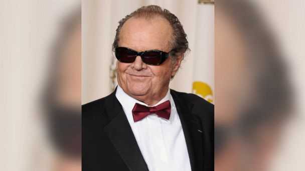 PHOTO: Actor Jack Nicholson poses in the press room during the Oscars at the Loews Hollywood Hotel in this Feb. 24, 2013, file photo.