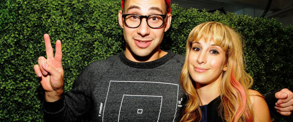 PHOTO: Rachel Antonoff and Jack Antonoff attend the Rachel Antonoff Spring 2013 presentation at the Drive In Studios, Sept. 8, 2012, in New York.