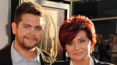 "PHOTO: Jack Osbourne and Sharon Osbourne arrive at the screening of ""God Bless Ozzy Osbourne"" to benefit the Musicares Map Fund held at ArcLight Cinerama Dome, Aug. 22, 2011 in Hollywood, Calif."