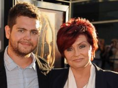 PHOTO: Jack Osbourne and Sharon Osbourne arrive at the screening of God Bless Ozzy Osbourne to benefit the Musicares Map Fund held at ArcLight Cinerama Dome, Aug. 22, 2011 in Hollywood, Calif.