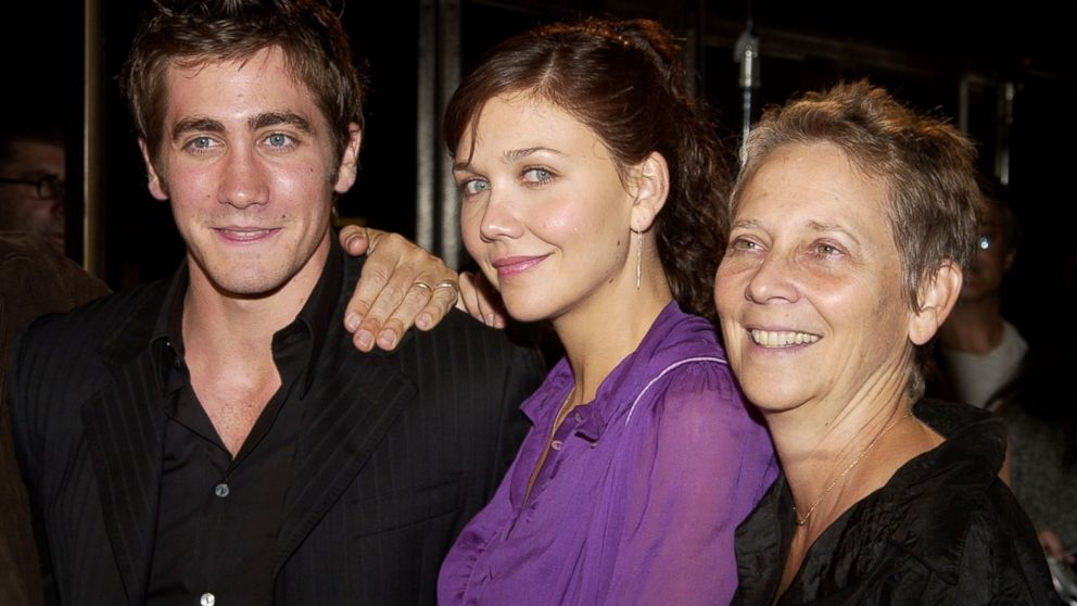 PHOTO: From left, Jake Gyllenhaal, Maggie Gyllenhaal and their mother, Naomi Foner