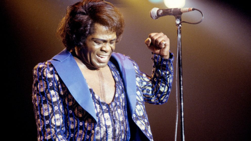PHOTO: James Brown performs on stage at the North Sea Jazz Festival held in The Hague, Netherlands, July 9, 1988.
