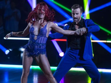 PHOTO: Sharna Burgess and James Hinchcliffe on Dancing With the Stars.