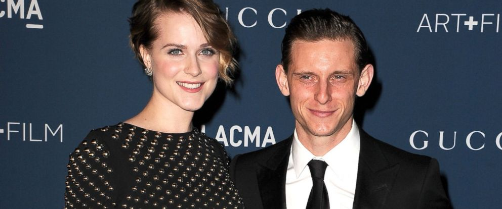 PHOTO: Jamie Bell and Evan Rachel Wood arrive at the LACMA 2013 Art + Film Gala, Nov. 2, 2013, in Los Angeles.