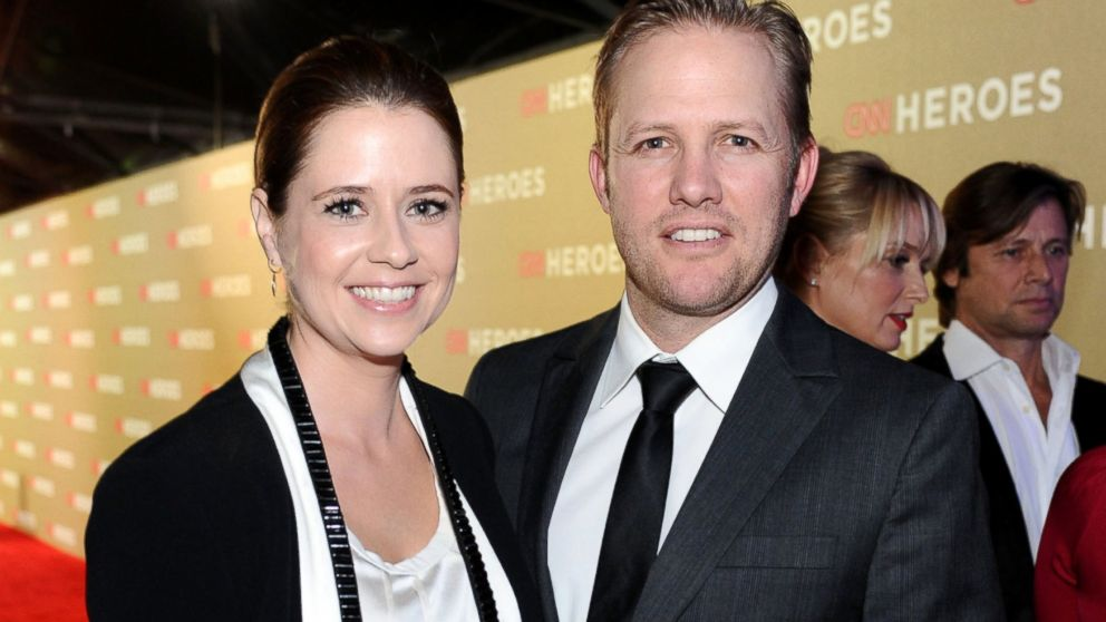 PHOTO: Jenna Fischer and Lee Kirk attend the CNN Heroes: An All Star Tribute at The Shrine Auditorium in in Los Angeles, Dec. 2, 2012.