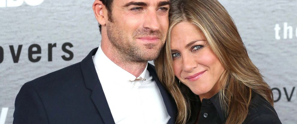 "PHOTO: Justin Theroux and Jennifer Aniston attend ""The Leftovers"" premiere at NYU Skirball Center, June 23, 2014, in New York."