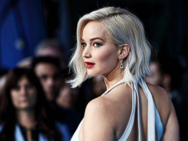 PHOTO: Jennifer Lawrence attends a Global Fan Screening of X-Men Apocalypse at BFI IMAX, May 9, 2016, in London, England.