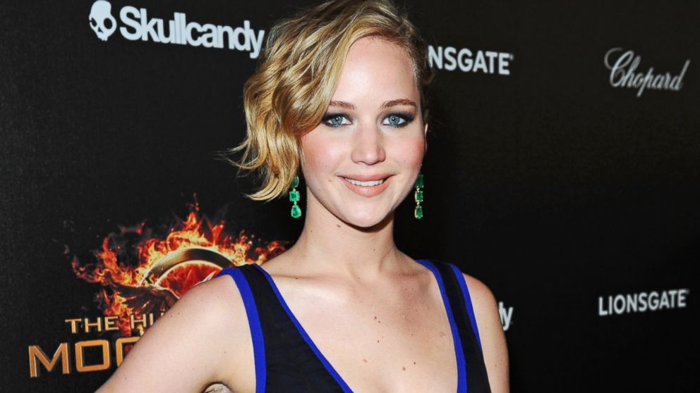 "PHOTO: Jennifer Lawrence attends Lionsgates ""The Hunger Games: Mockingjay Part 1"" party on May 17, 2014 in Cannes, France."