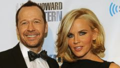 PHOTO: Donnie Wahlberg and Jenny McCarthy at SiriusXMs Howard Stern Birthday Bash at Hammerstein Ballroom, Jan. 31, 2014 in New York.