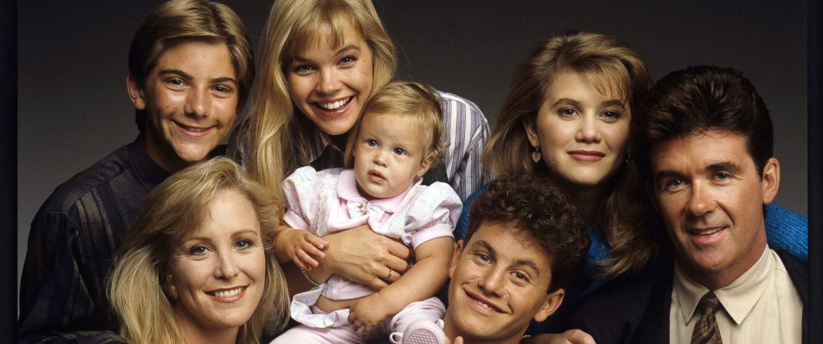 PHOTO: Jeremy Miller, top left, and the cast of Growing Pains appear in this june, 27, 1989 file photo.
