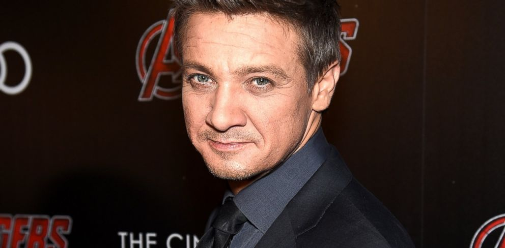 PHOTO: Jeremy Renner attends The Cinema Society & Audi screening of Marvels Avengers: Age of Ultron, April 28, 2015, in New York City.