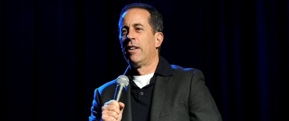 PHOTO: Jerry Seinfeld performs at The New York Comedy Festival And The Bob Woodruff Foundation Present The 7th Annual Stand Up For Heroes Event at The Theater, Nov. 6, 2013 in New York City.