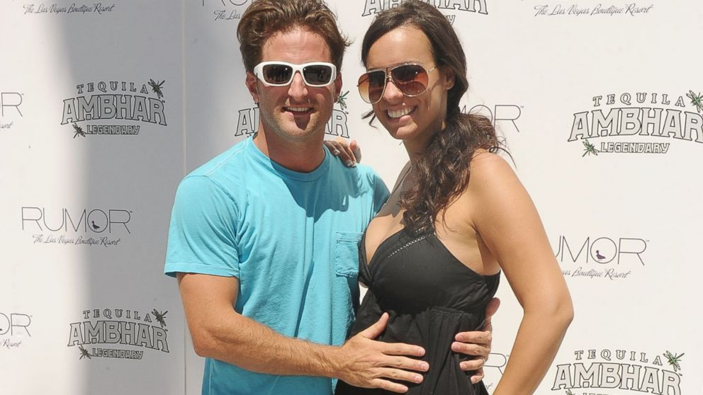 PHOTO: Jesse Csincsak and Ann Lueders arrive at RUMOR Las Vegas in Las Vegas, Nevada, August 29, 2010.