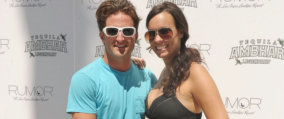 PHOTO: Jesse Csincsak and Ann Lueders arrive at RUMOR Las Vegas in Las Vegas, Nevada, August 29, 2010.