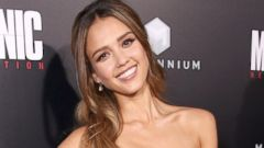 Jessica Alba Goes Glam for the Red Carpet