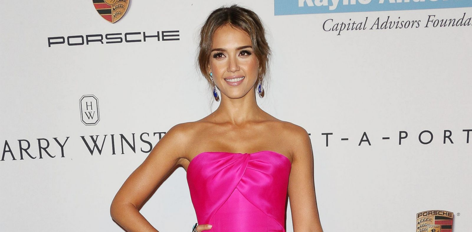 PHOTO: Actress Jessica Alba attends the Second Annual Baby2Baby Gala at the Book Bindery in this Nov. 9, 2013 file photo.