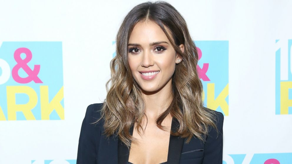 PHOTO: Actress Jessica Alba visits 106 & Park at BET studio, Aug. 13, 2014, in New York.