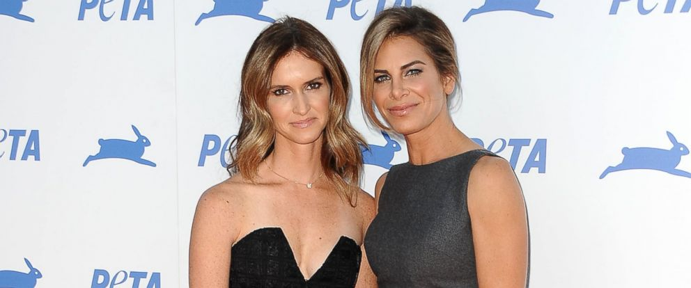 PHOTO: Jillian Michaels, right, and Heidi Rhoades attend PETAs 35th anniversary party at Hollywood Palladium, Sept. 30, 2015, in Los Angeles.