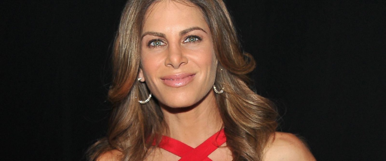 PHOTO: Jillian Michaels poses backstage at the Heart Truth 2013 Fashion Show at Hammerstein Ballroom in this Feb. 6, 2013, file photo in New York City.