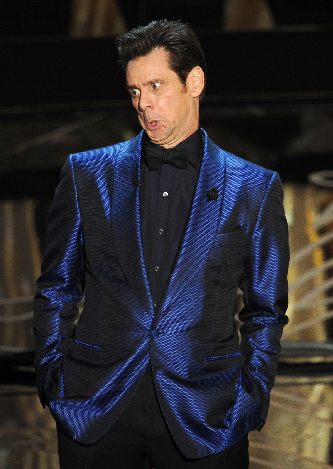 Jim Carrey Makes a Funny Face Picture | The Best Moments from the ...