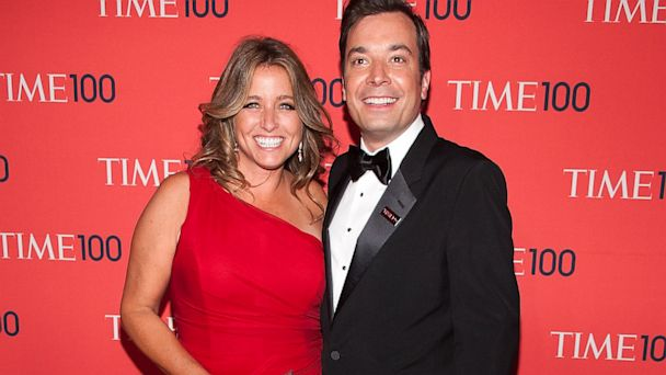 GTY jimmy fallon wife time 100 event thg 130724 16x9 608 Jimmy Fallon and Wife Welcome Baby Girl