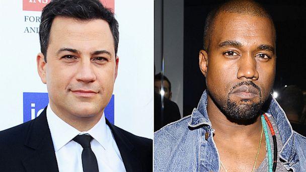 GTY jimmy kimmel kanye west jef 130927 16x9 608 5 Things to Expect from Kanye West on Jimmy Kimmel Live Tonight