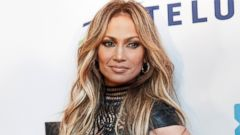 Jennifer Lopez Turns Heads In Leather