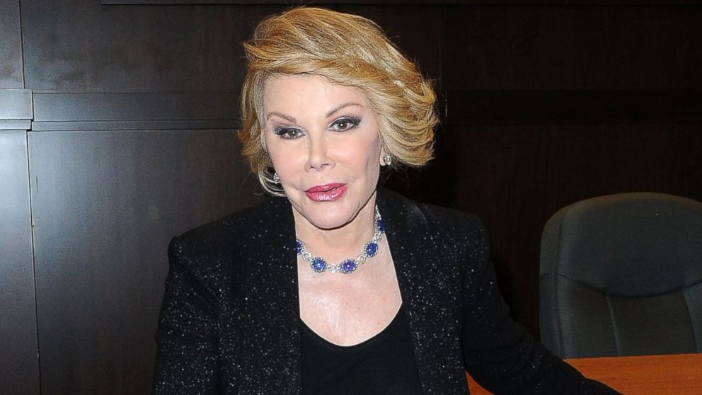 The Fashion Police Cast Remembers Joan's Humor Joan Rivers attends her book