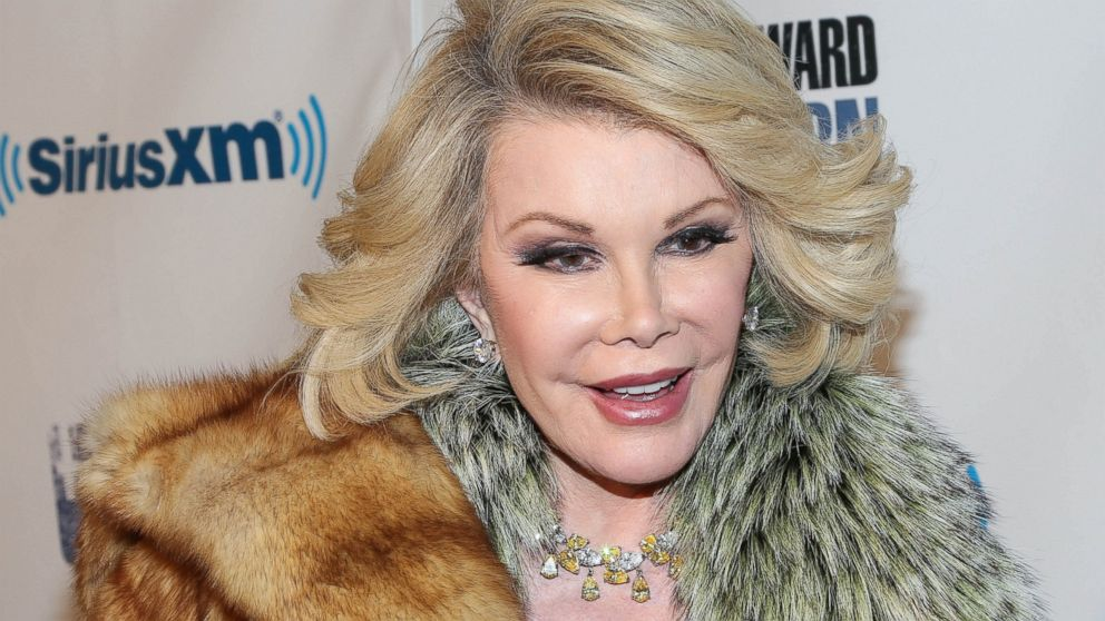 "PHOTO: Joan Rivers attends SiriusXMs ""Howard Stern Birthday Bash"" on Jan. 31, 2014 in New York City."