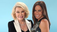 PHOTO: TV personalities Joan Rivers, left, and Melissa Rivers pose for a portrait at the DoSomething.org and VH1s 2013 Do Something Awards at Avalon, July 31, 2013 in Hollywood, Calif.