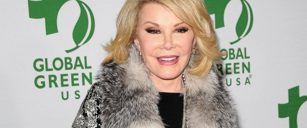 PHOTO: Joan Rivers attends Global Green USAs 11th Annual Pre-Oscar Party at Avalon, Feb. 26, 2014, in Hollywood, Calif.