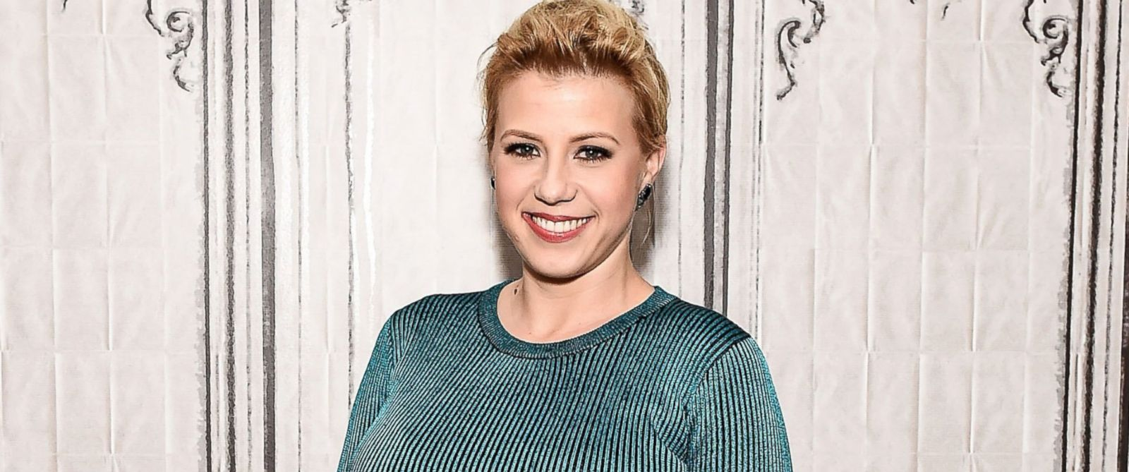 "PHOTO: Jodie Sweetin attends the AOL Build Speakers Series to discuss ""Fuller House"" at AOL Studios In New York City, Feb. 25, 2016."