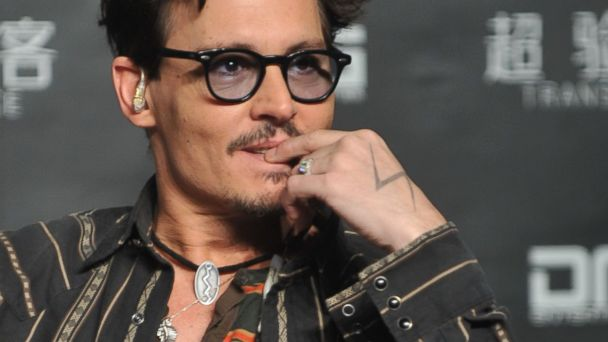 GTY johnny depp engagement ring tk 140331 16x9 608 Johnny Depp Flaunts Chicks Ring, Indirectly Confirms Engagement