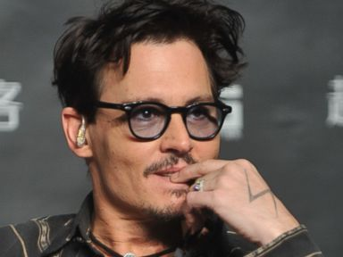 Johnny Depp Flaunts 'Chick's Ring,' Indirectly Confirms Engagement