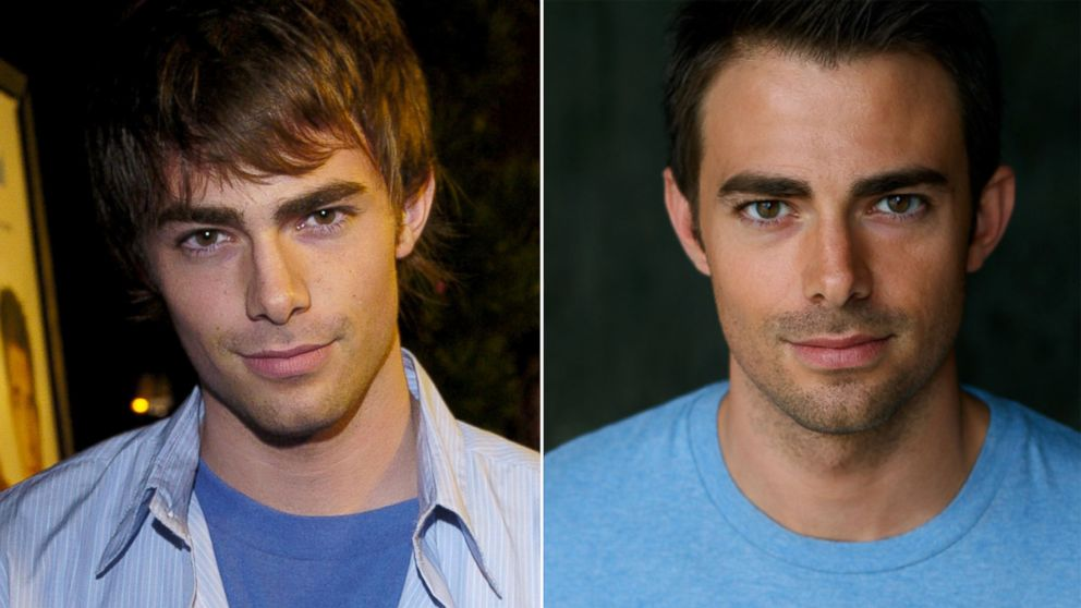 PHOTO: At left, Jonathan Bennett in Westwood, Calif., Jan. 9, 2004. Right, Bennetts current photo.